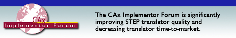 CAx Implmentor Forum Home Page